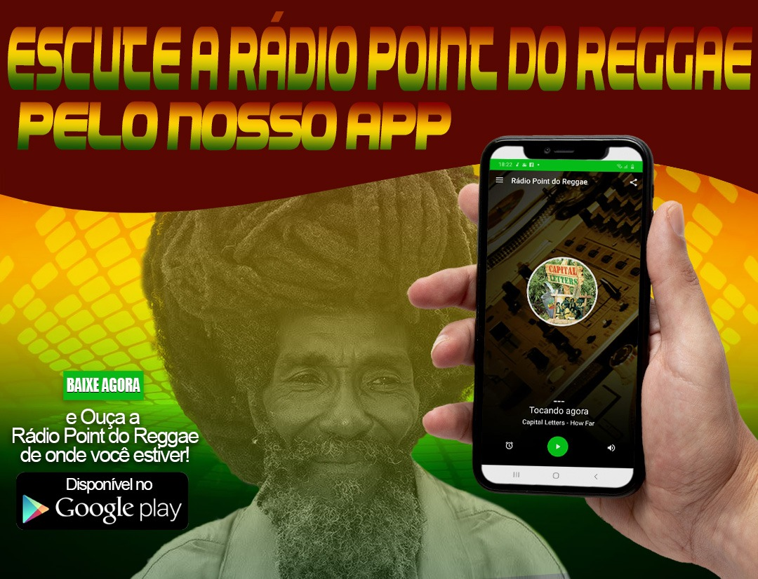 Novo app da Rádio Point do Reggae